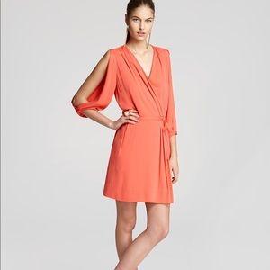 DVF Autumn Wrap Dress in Hot Spice.